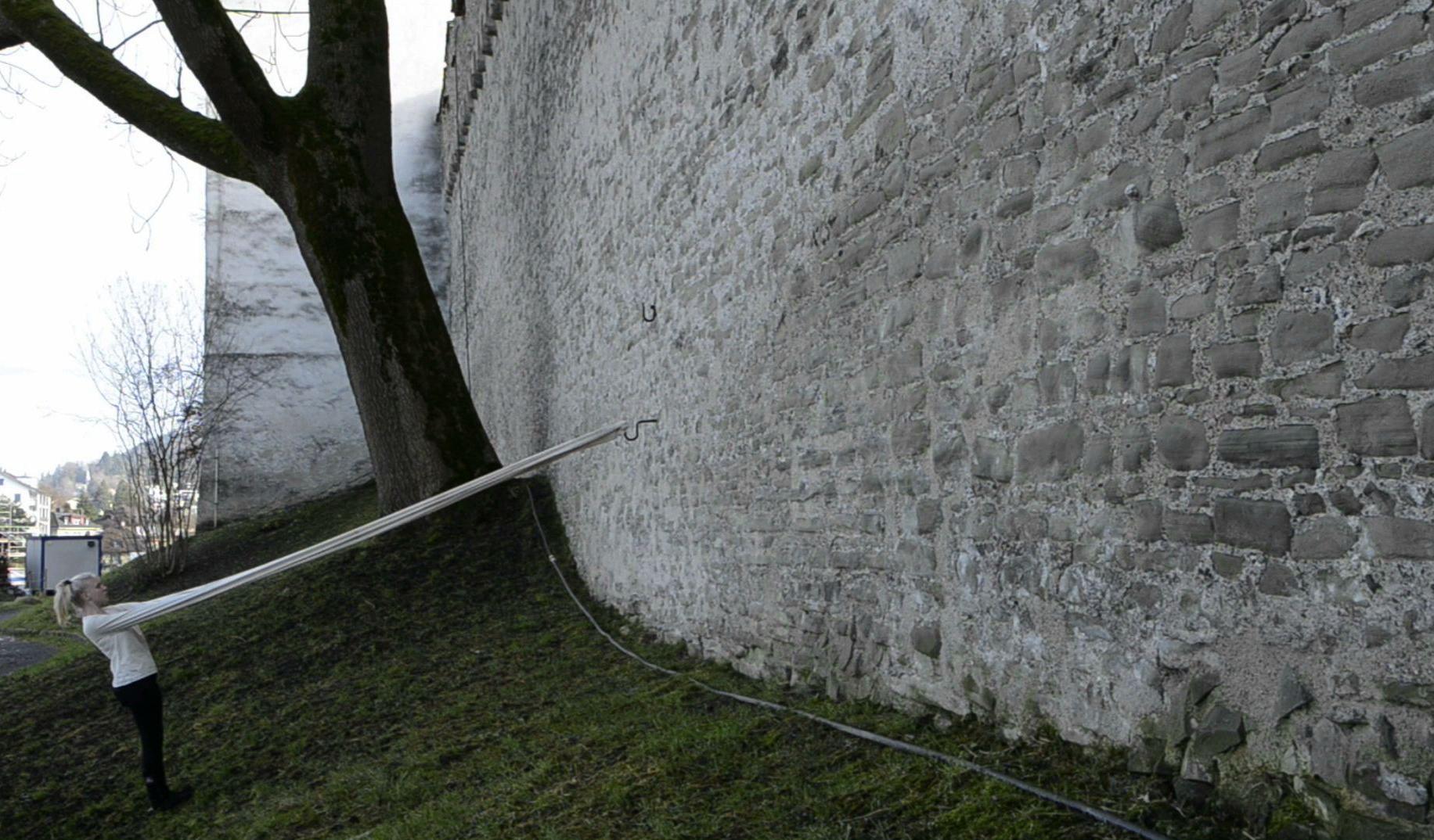 Lange Ärmel-Mauer